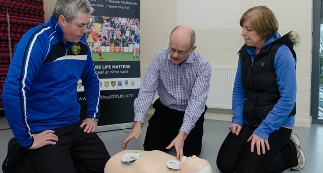 Referees Receive Lifesaving Training