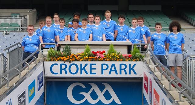 Roe Valley Cúchulainns visit Croke Park