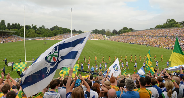 Football Final SOLD OUT as Ulster Championship Attendances go up 5.6%