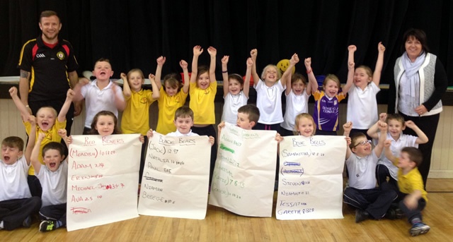 'Active Maths' at St Patrick's PS Derrygonnelly