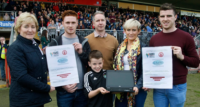 Tyrone stars back online safety campaign