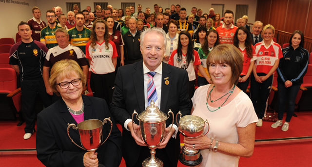 Ulster Club Championships launched at Garvaghey
