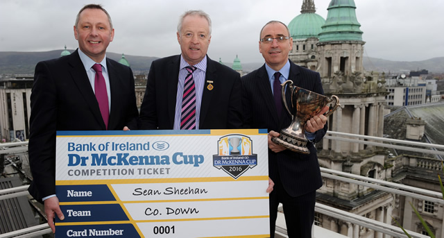 Bank of Ireland Dr McKenna Cup Competition Ticket Launched