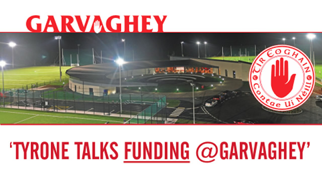 Tyrone talks 'Funding' at Garvaghey