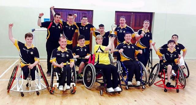 Ulster win Inter-Provincial Wheelchair Hurling League