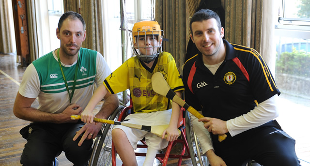 Wheelchair hurling showcases GAA for all