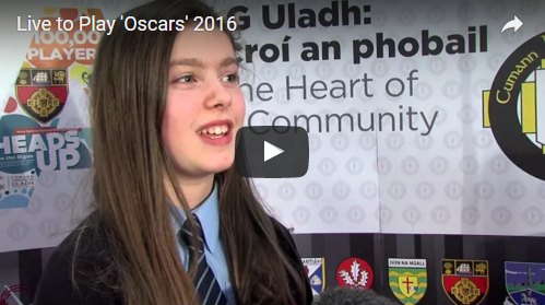 Highlights of the Ulster GAA 'Live to Play' Oscars