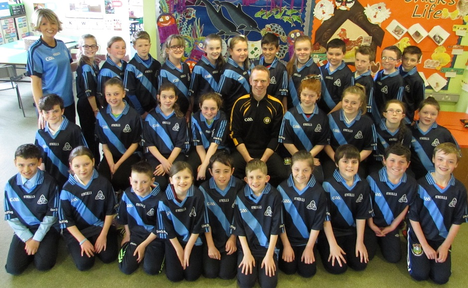 St Dallan's PS, Warrenpoint Celebrate GAA Day