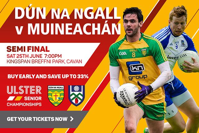Ulster Senior Football Championship 2016 - Donegal v Monaghan