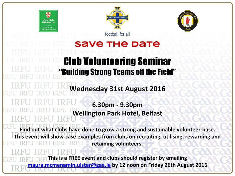 Club Volunteering Seminar