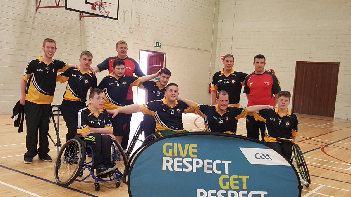 Ulster GAA wheelchair hurlers retain All-Ireland title