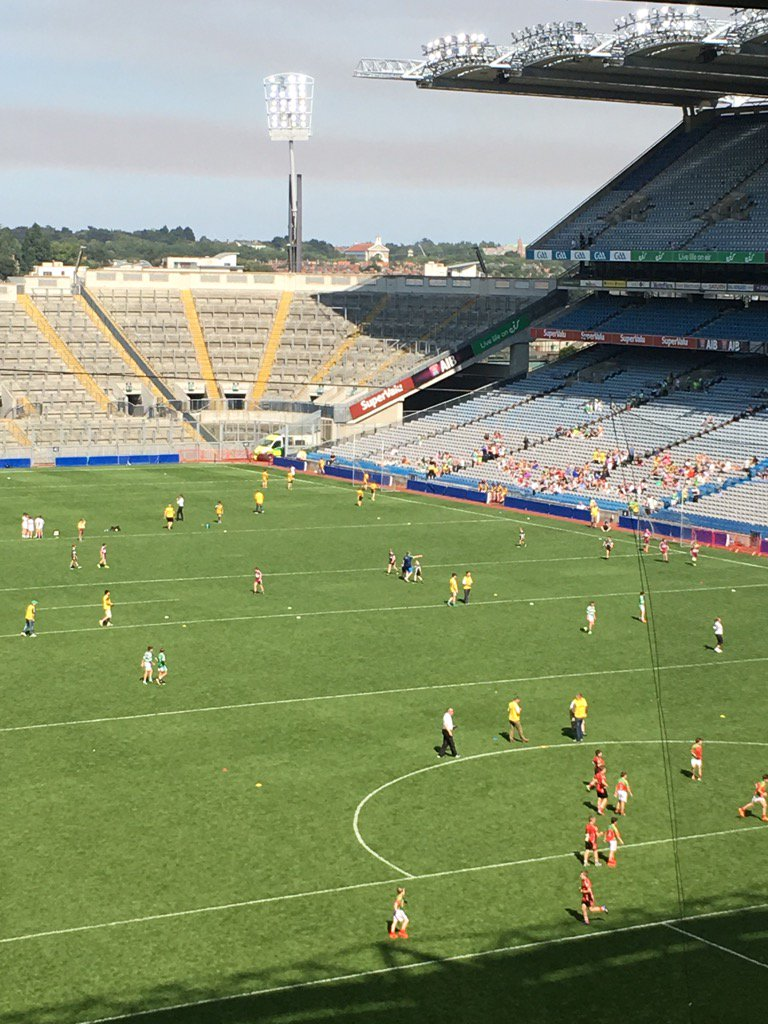 Children from across Ulster get to play at Croke Park