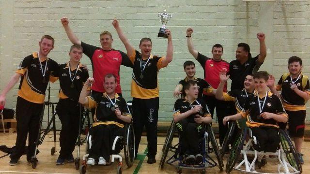 Ulster GAA Wheelchair Hurlers- League Winners 2016