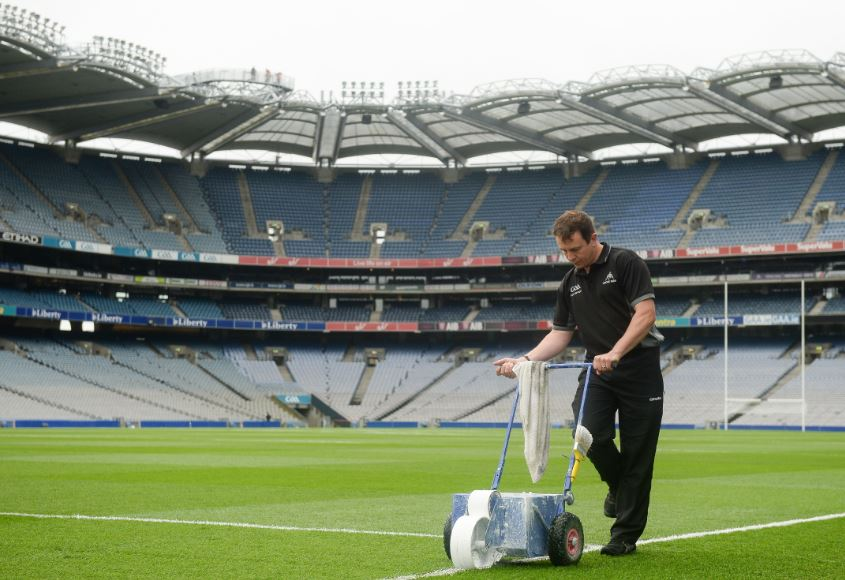 Pitch maintenance course at Tyrone GAA Centre