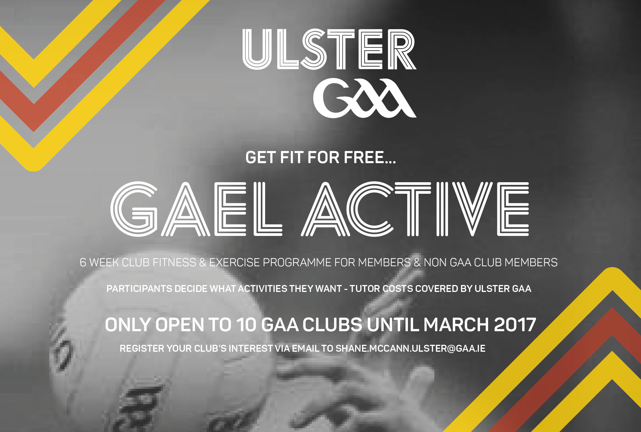 Get your club fit for free with Gael Active