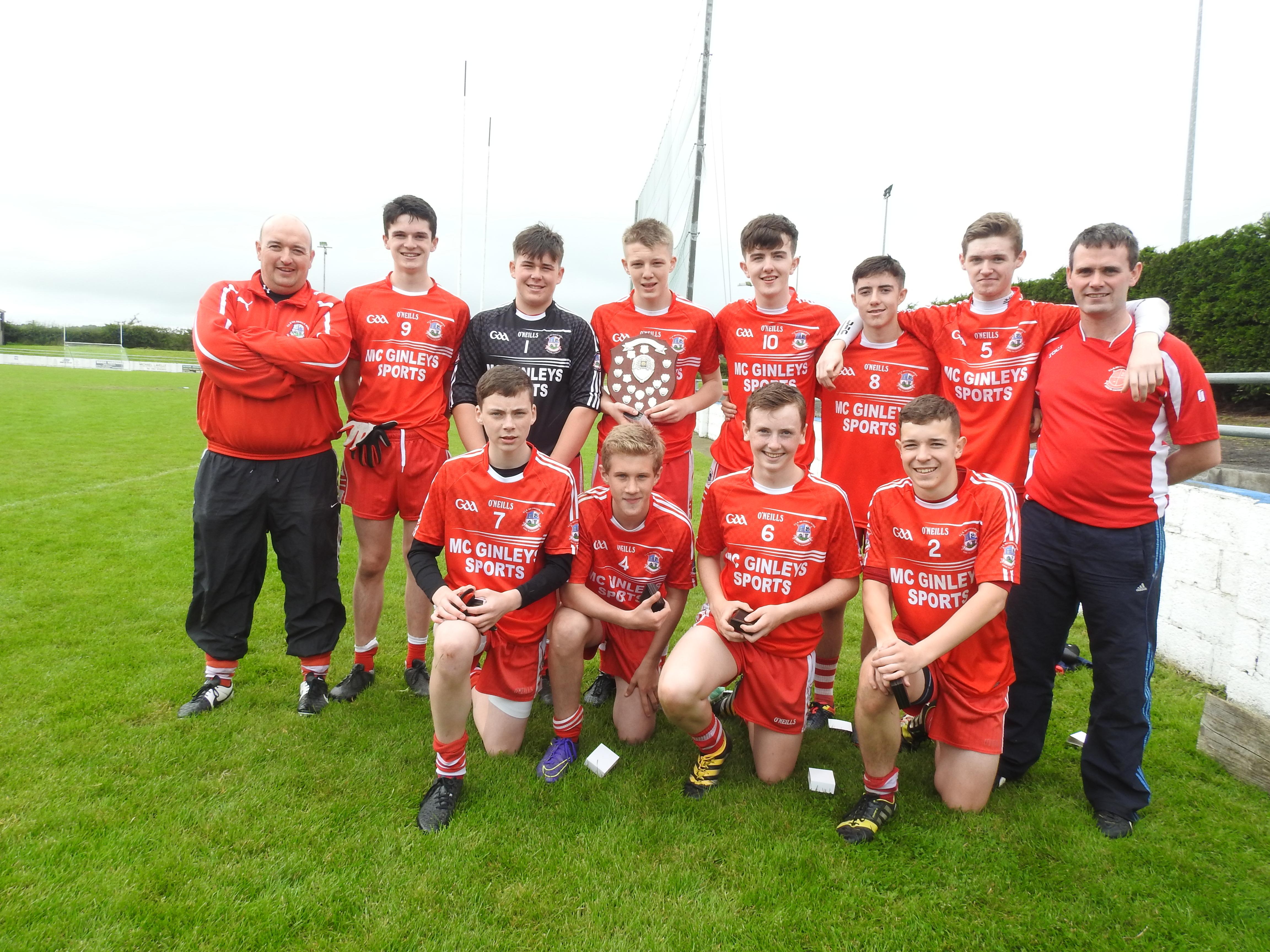 Killybegs are Ulster Óg Spórt Champions 2016