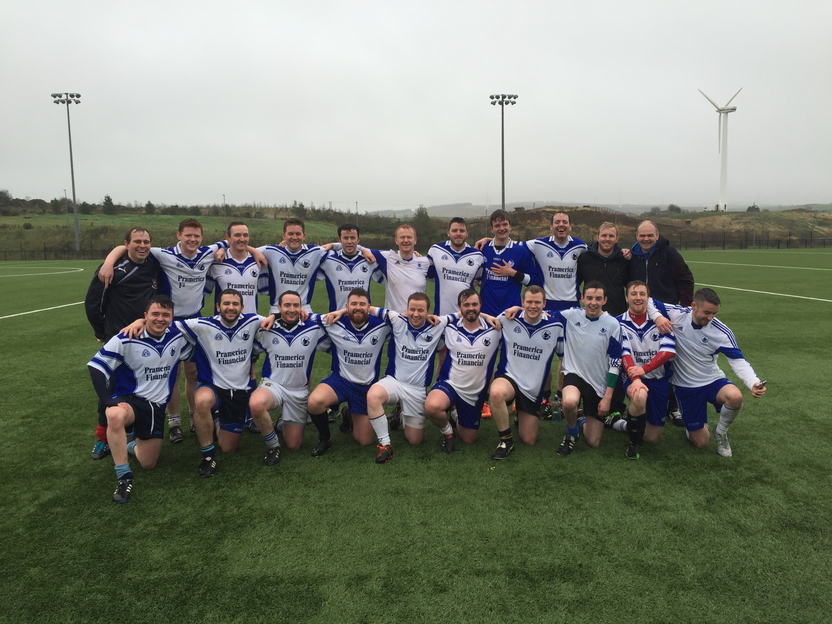 Garvaghey to host Ulster Inter-firms Football Championship 2016