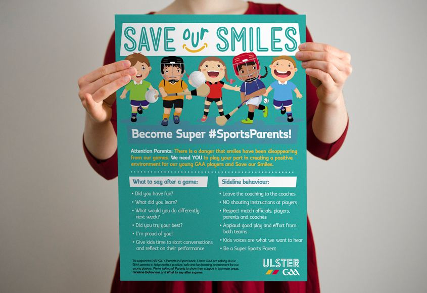GAA Parents in Sport Week – Save Our Smiles Campaign