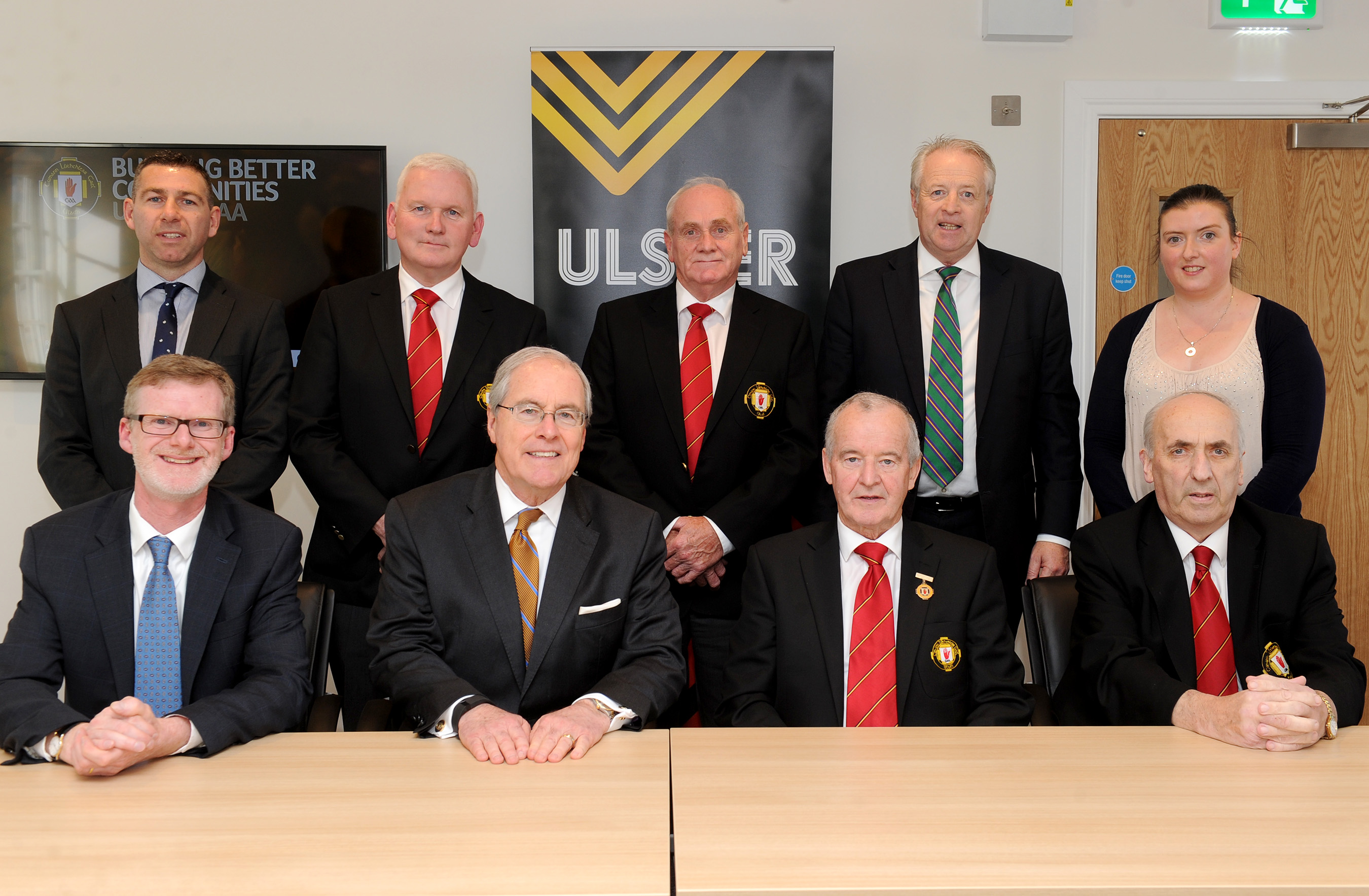 US Ambassador and Consul General visit Ulster GAA