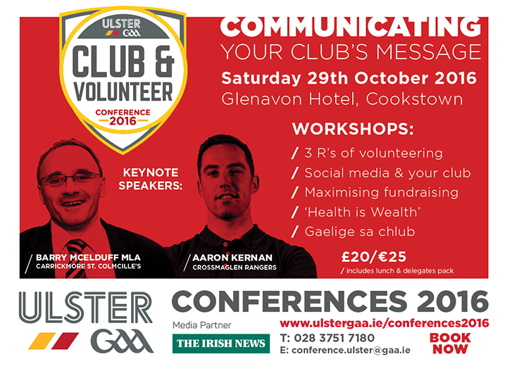 Ulster Club Conference 2016