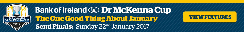 Dr McKenna Cup 2017