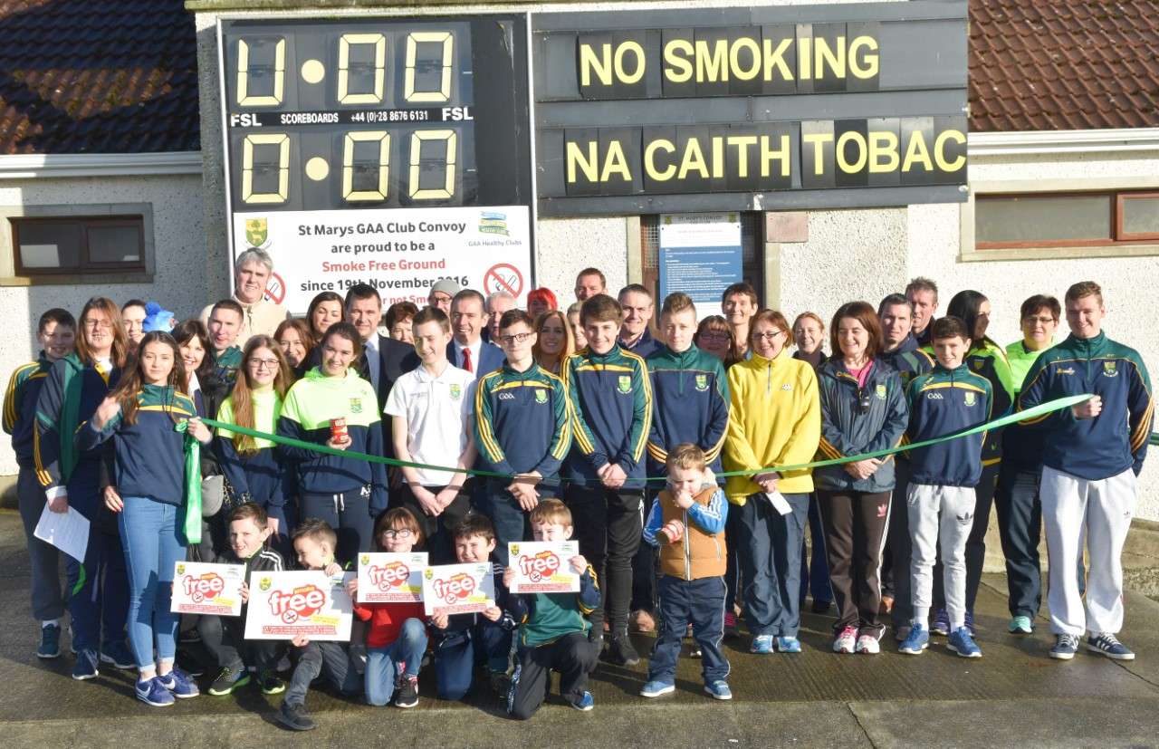 GAA Healthy Clubs ahead of the game and leading the way for tobacco- free Ireland.
