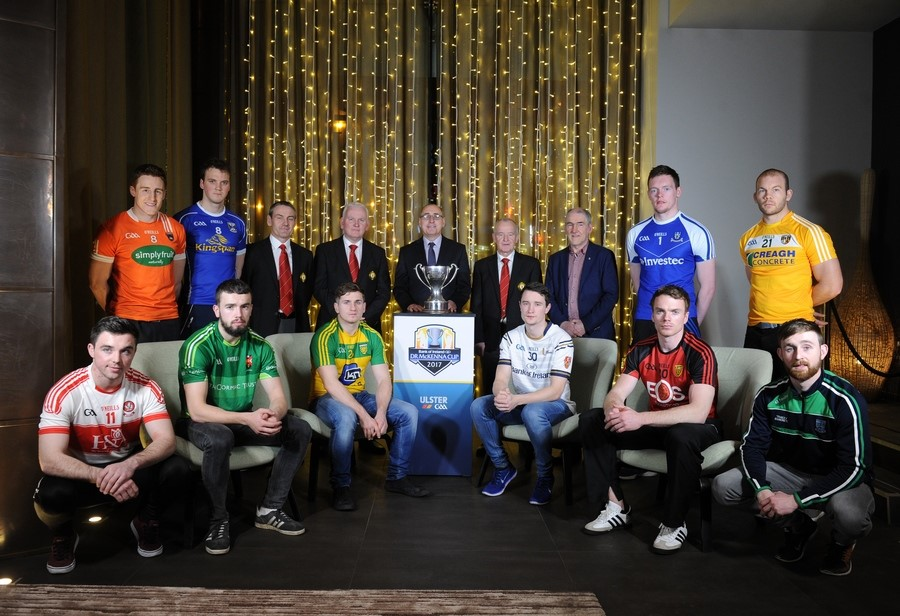 Bank of Ireland Dr McKenna Cup 2017 Draw