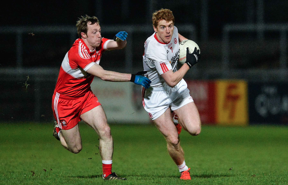 Tyrone win sixth Bank of Ireland Dr McKenna Cup in a row