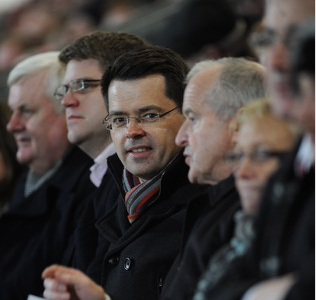Secretary of State attends Bank of Ireland McKenna Cup Final