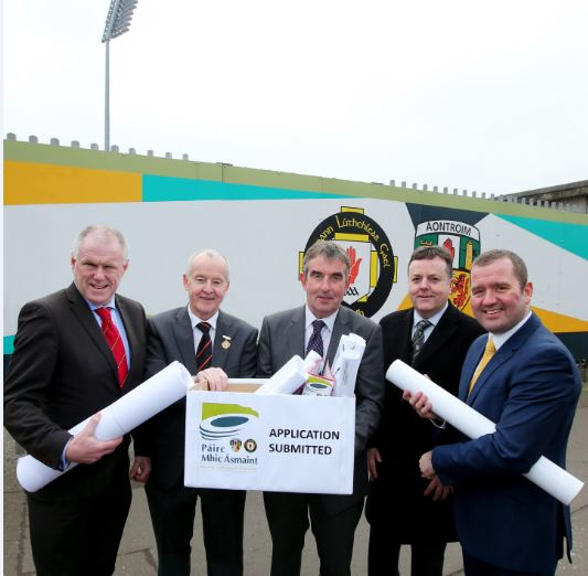 Casement Park planning application submitted