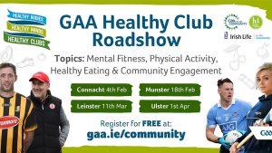 GAA's Healthy Club Ulster Roadshow