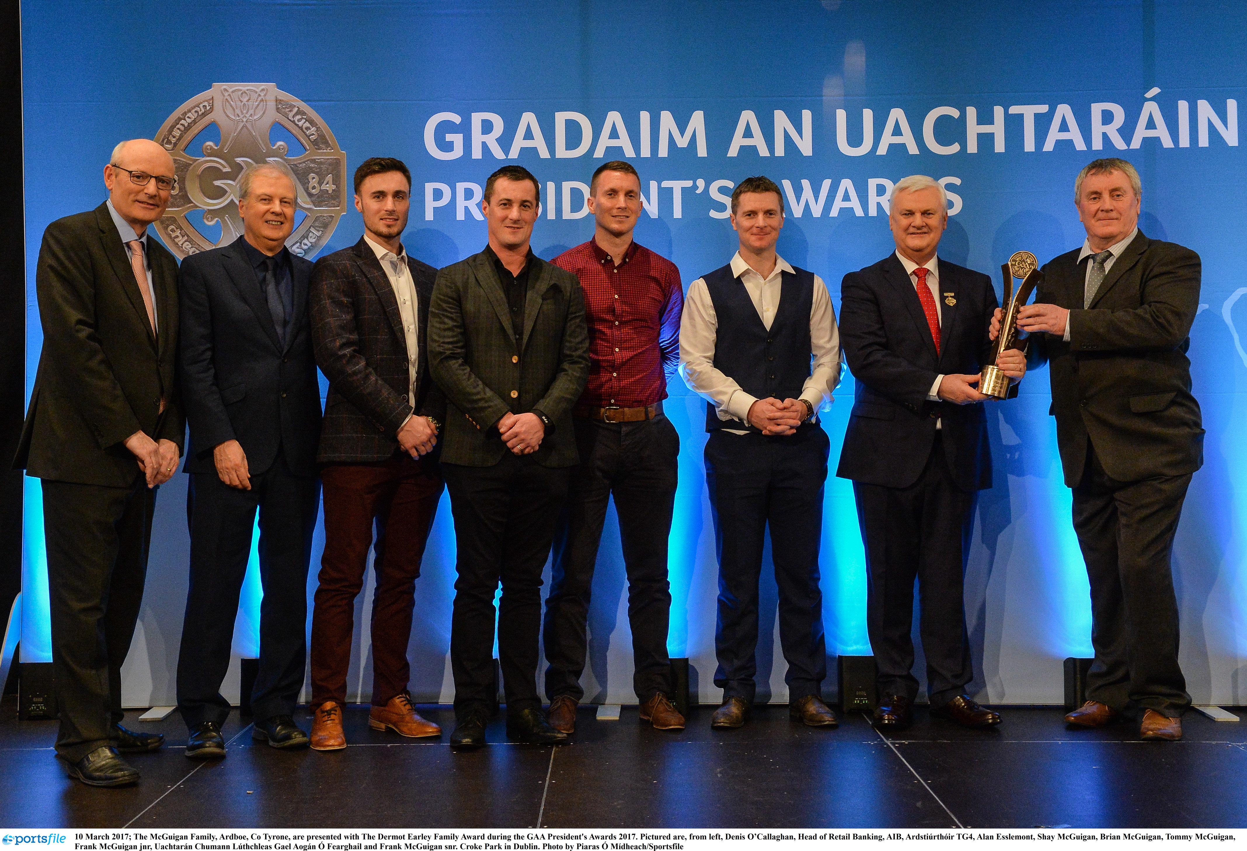 GAA President's Awards for Ulster Gaels