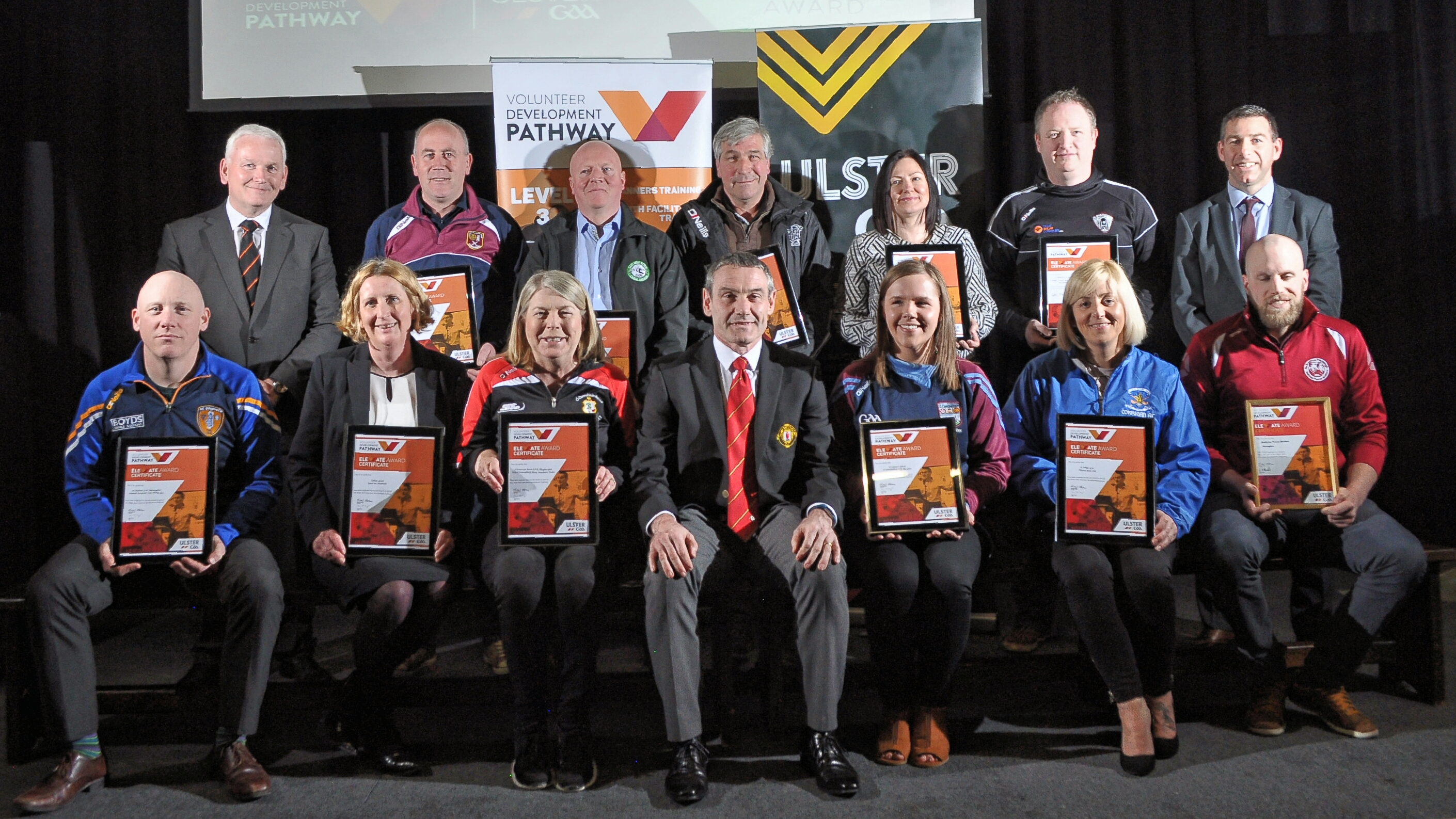 Ulster's 2017 Elevate Clubs Honoured