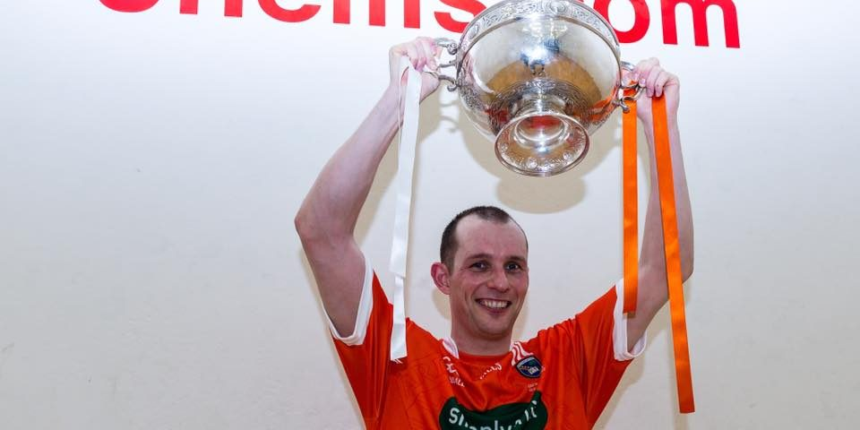 Armagh's Charly Shanks is GAA Handball 40×20 Champion