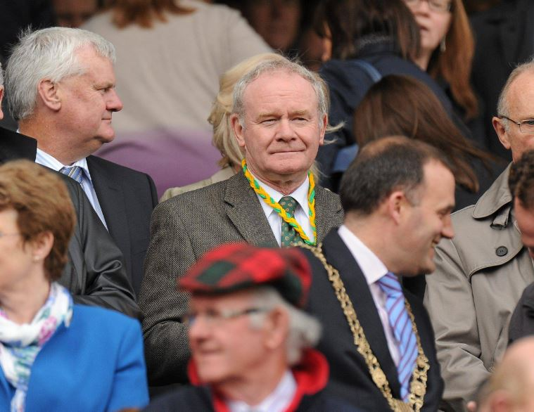 Ulster GAA expresses sympathy on the death of Martin McGuinness
