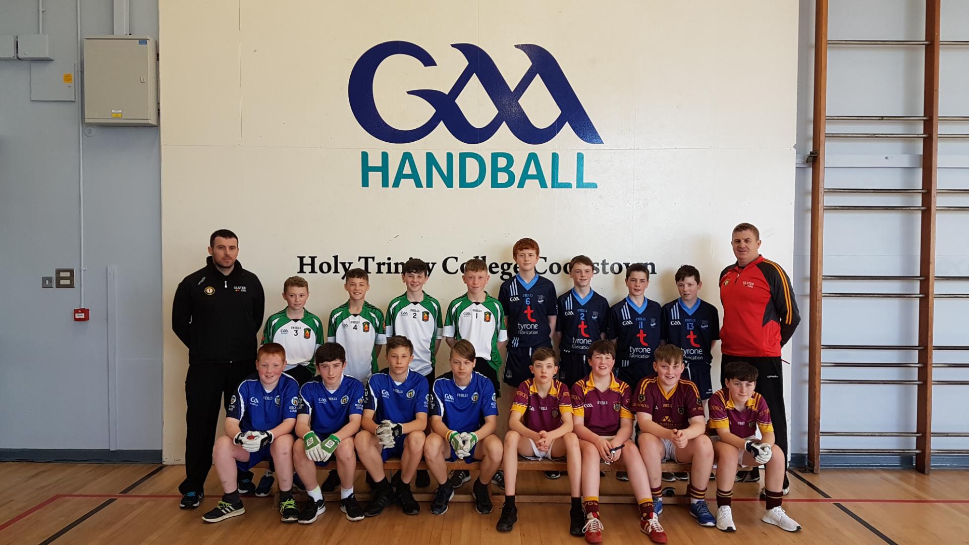 St Ciaran's Ballygawley Provincial One Wall Handball Champions