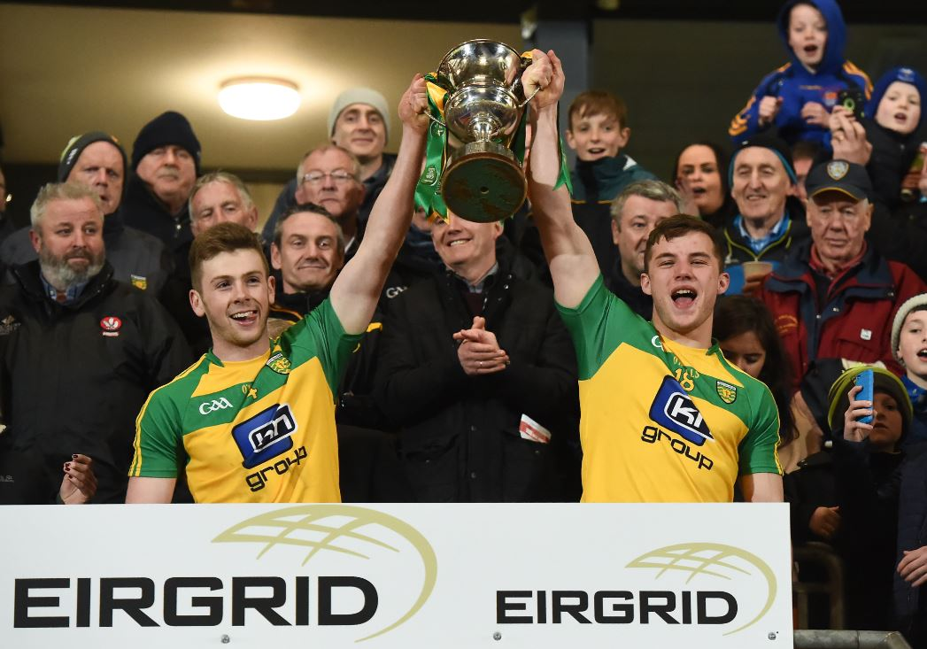 Donegal crowned Ulster EirGrid U-21 Football Champions