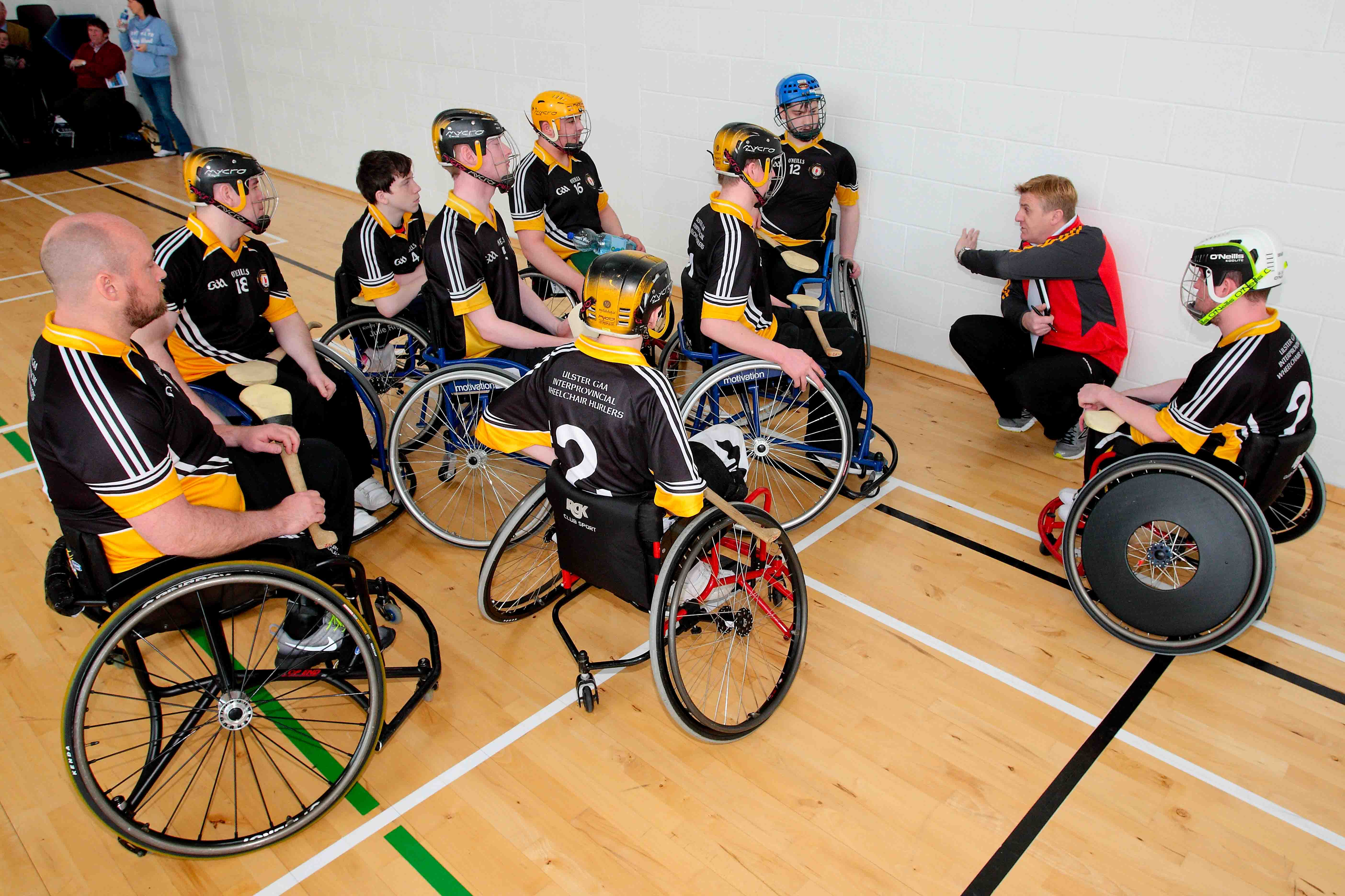 Ulster GAA Wheelchair Hurlers First Provinicial Blitz of 2017