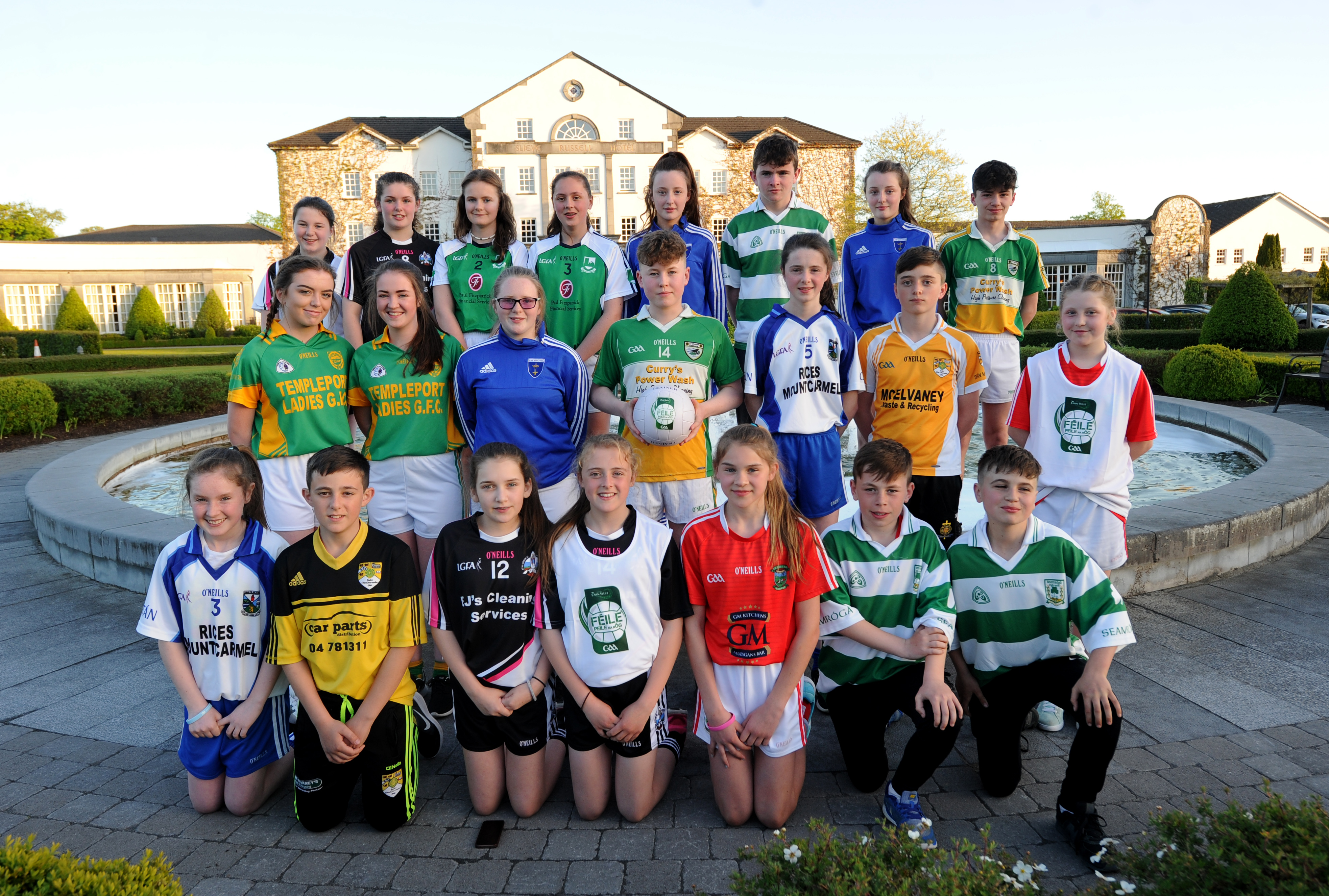 Launch of the John West Féile Peil na nÓg 2017