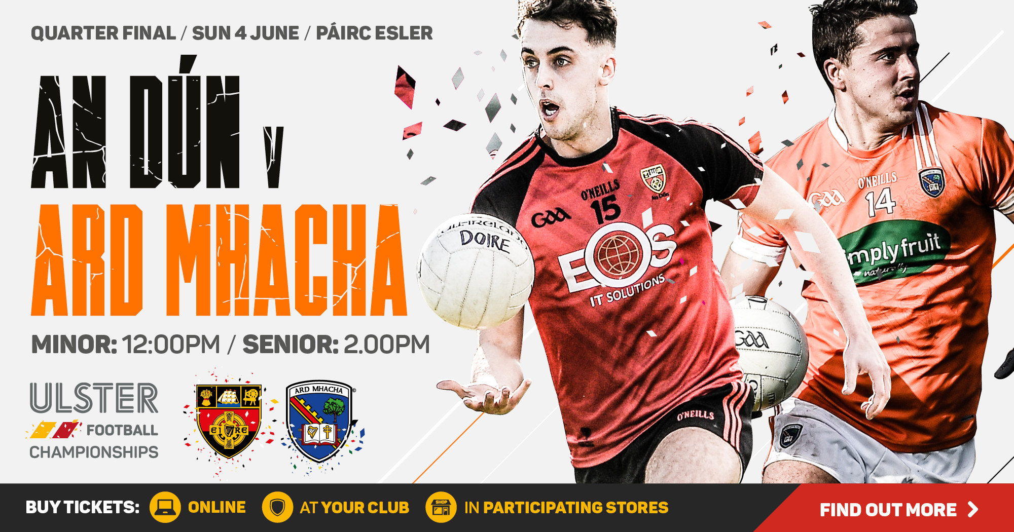 Ulster Senior Football Championship - Down v Armagh