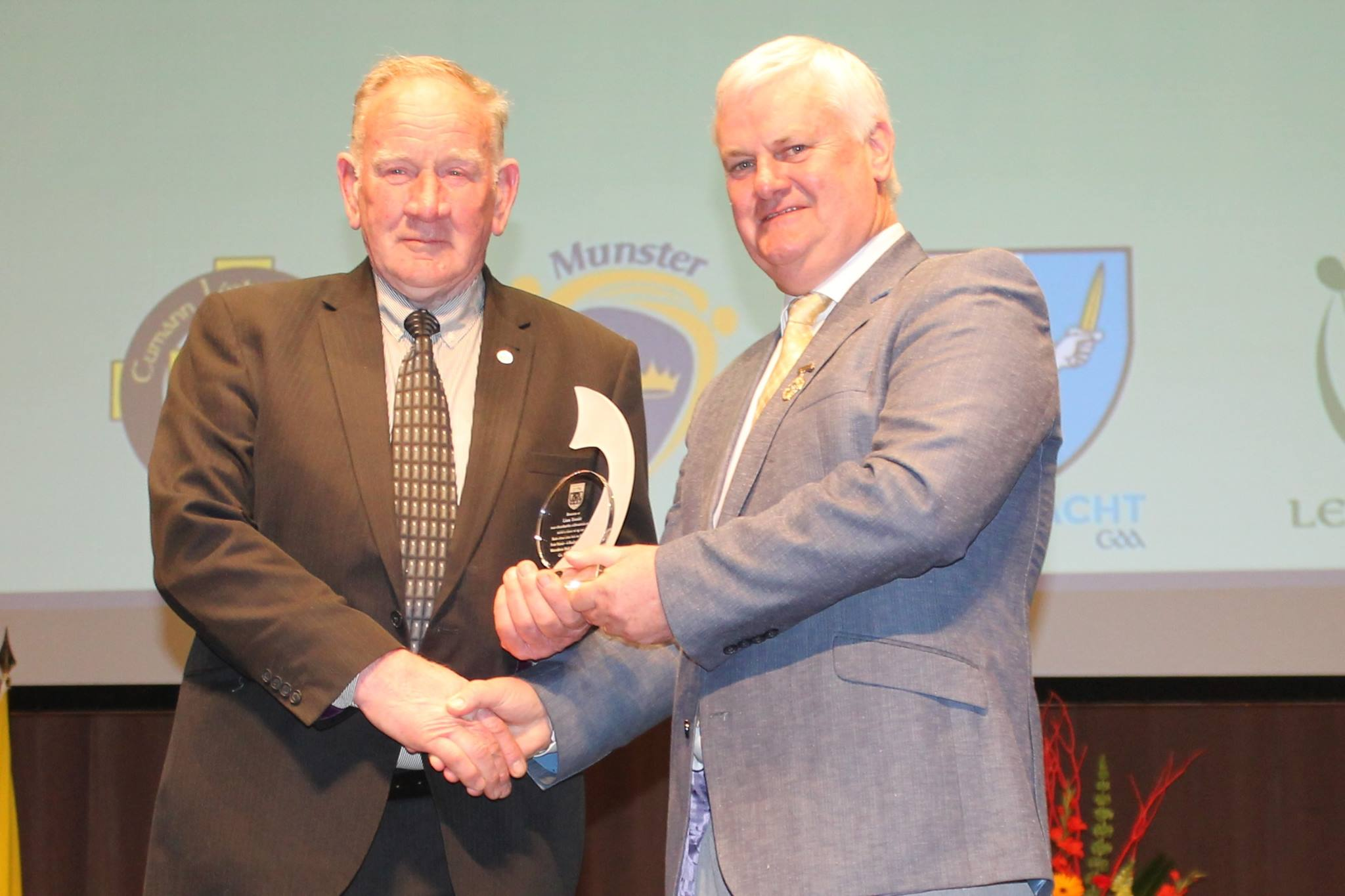 Life-long Service Award for Derry's Willie Turner