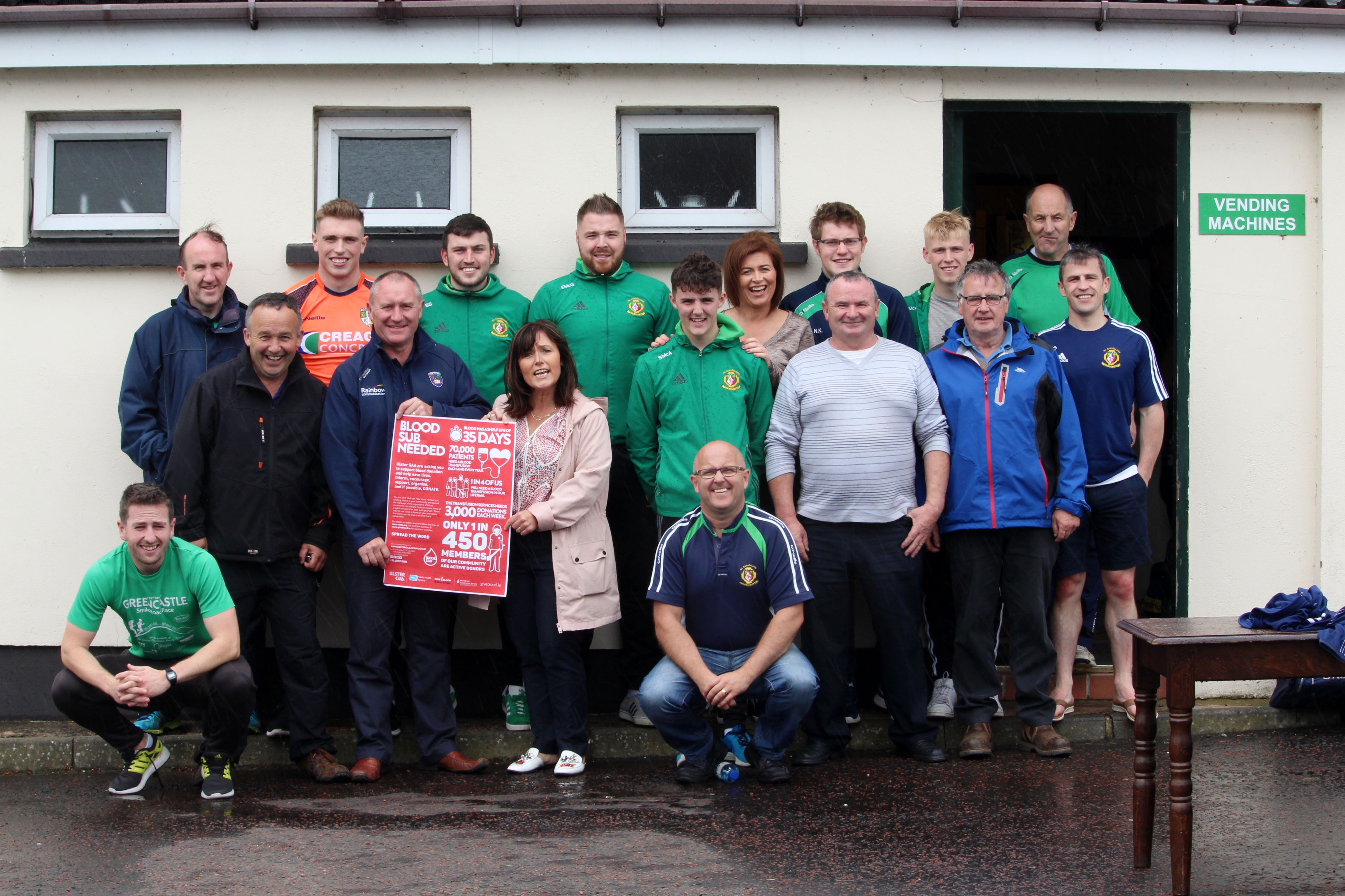 Ulster GAA proud to support World Blood Donor Day