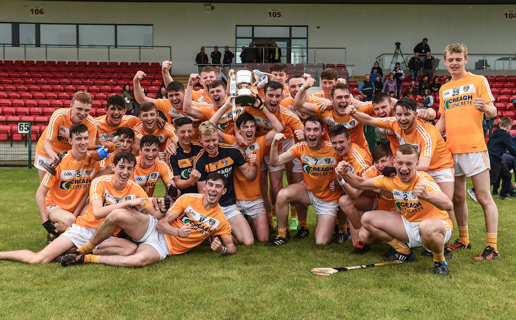 Antrim are Ulster Minor Hurling Champions for 5th year in a row
