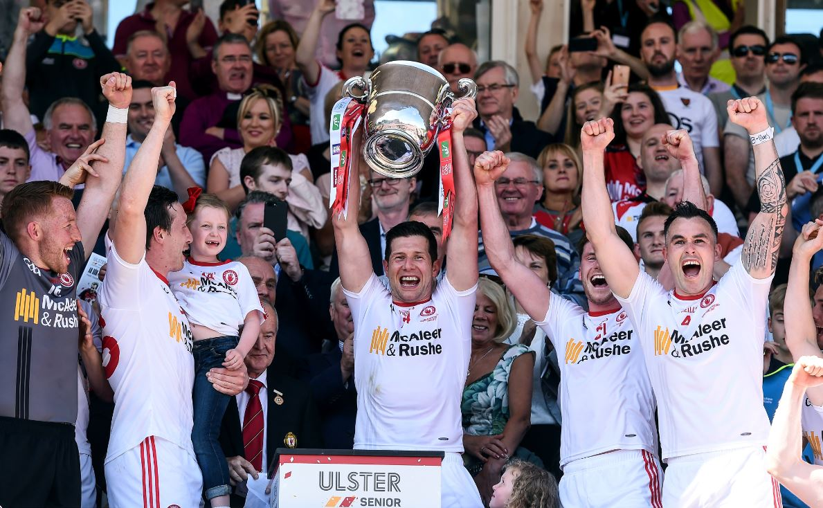 Tyrone are Ulster Senior Football Champions for the second year in a row