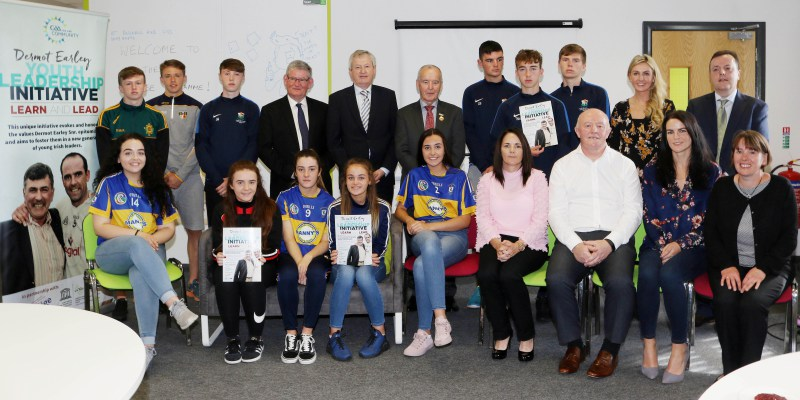 Antrim to host Dermot Earley Youth Leadership Initiative