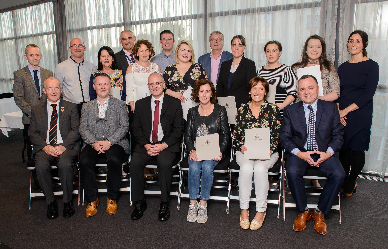 President congratulates Irish Scholars