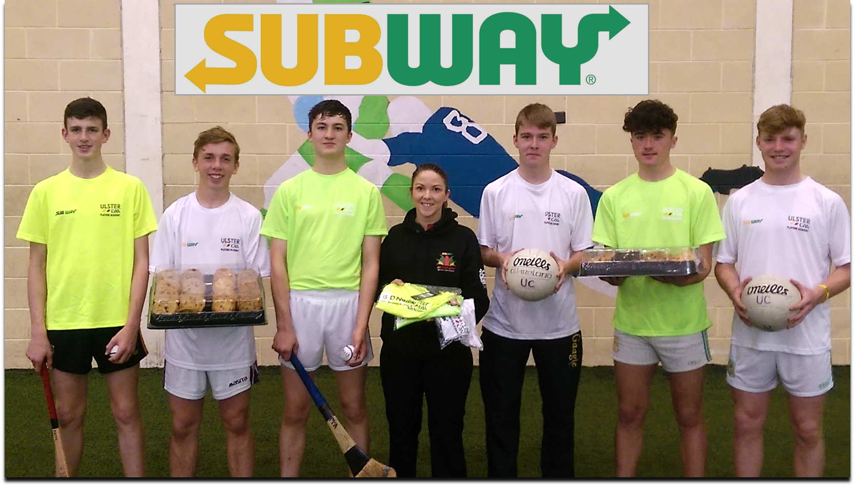 Subway Ulster GAA Player Academy Success