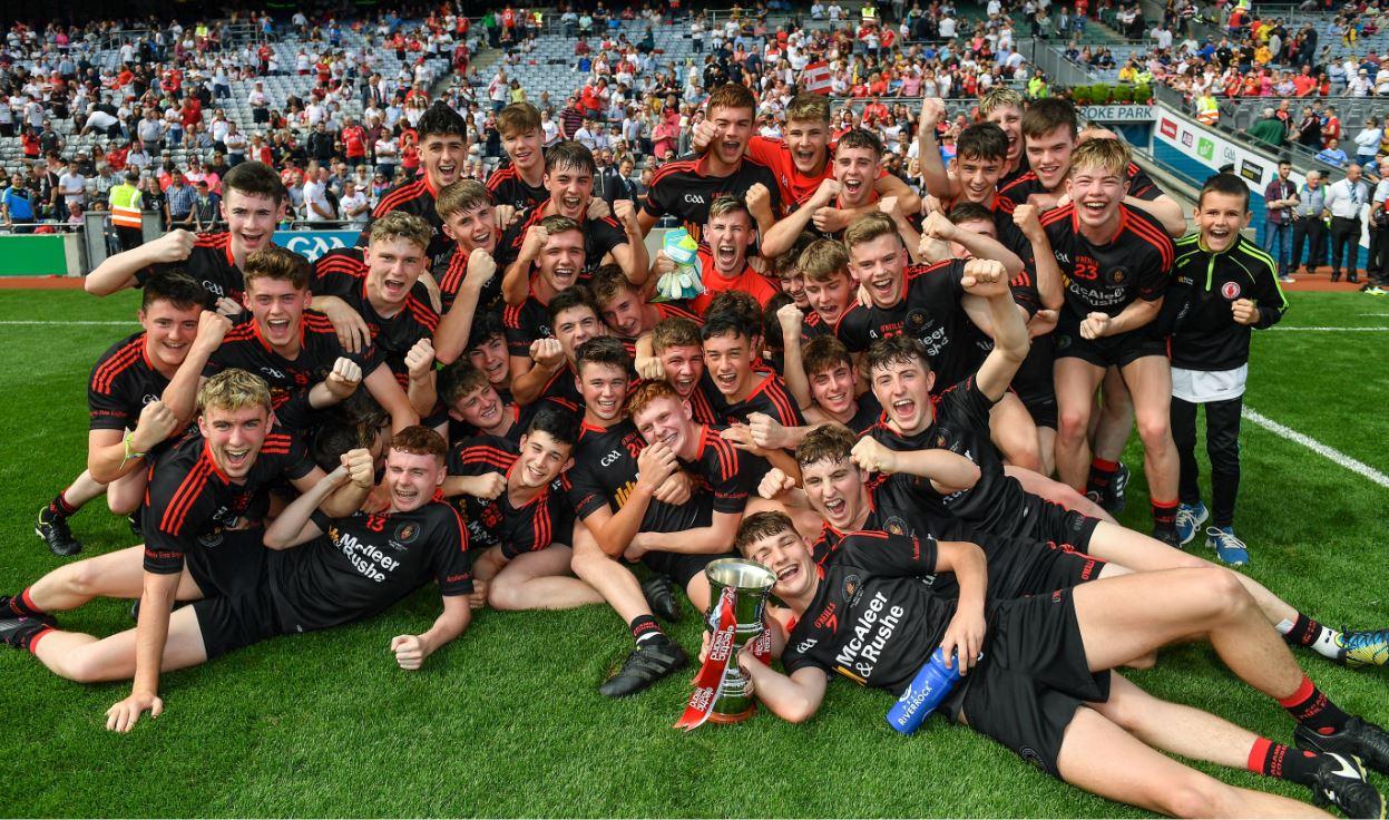 Tyrone Win All-Ireland U17 Football Competition