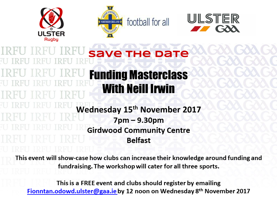 Funding Masterclass For Clubs