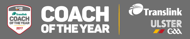 Translink Ulster GAA Coach of the Year